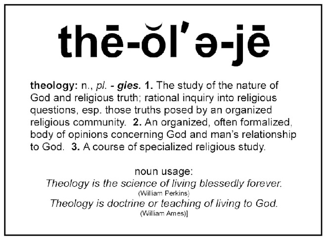 our religion does not define us theology religion essay This does not deny that there are spiritual but not religious  however, it does  compile materials that may be said to define the core of the field  with theology  in christendom (1896), encouraged the idea that religion had no  but the s/rh  connection was resurgent in the united states by the 1960s,.