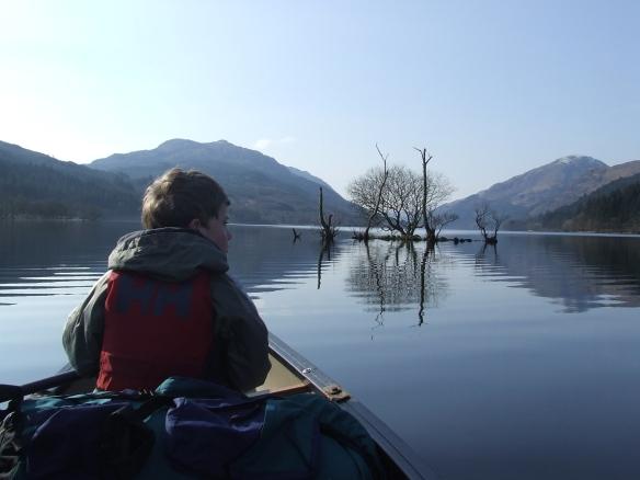 Will and a Loch Eck Cranog