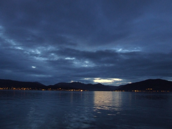 From the Ferry heading home to Dunoon