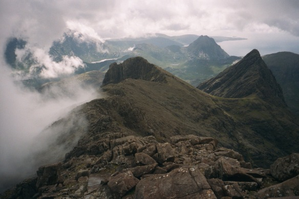 cuilin ridge from Sgur nan Gilean