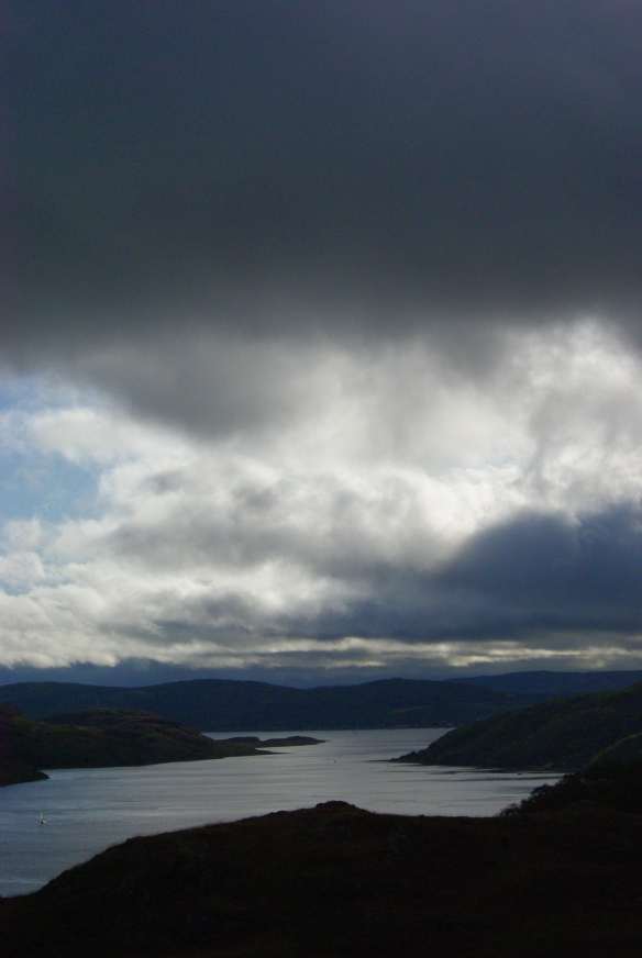 kyles of bute, towards tighnabruach