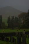 graveyard, inverchaolain chapel, loch striven