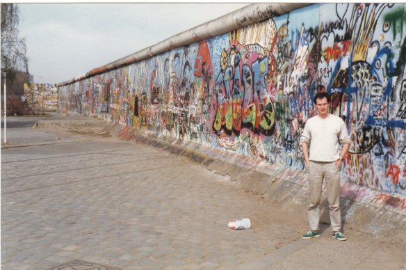 mark, the wall