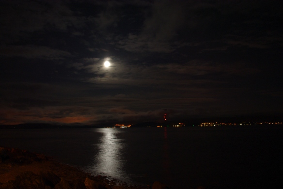 firth of clyde, night time 2