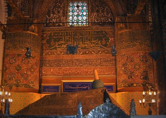 Rumi's tomb, Konya