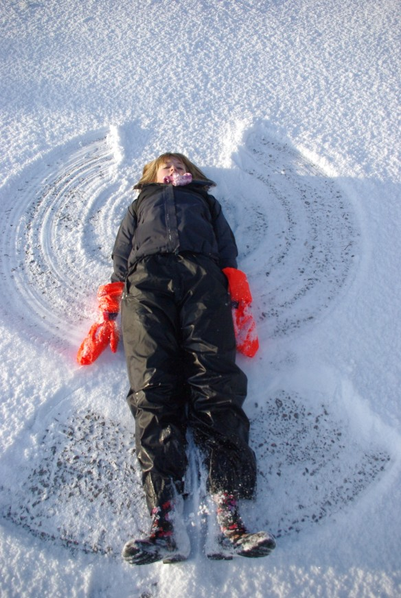 My snow angel 1