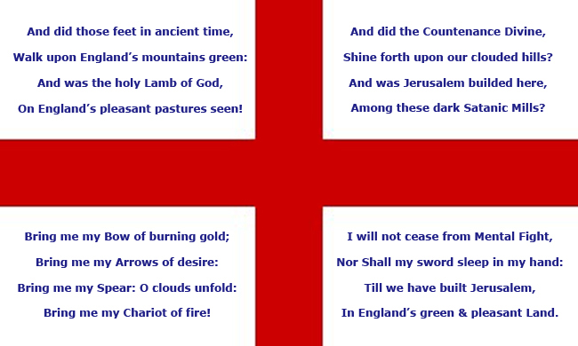 St Georges day, England and protesting... (1/2)