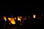Lanterns start to fill