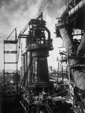 bourke-white-margaret-under-construction-blast-furnace-at-magnitogorsk-metallurgical-industrial-complex