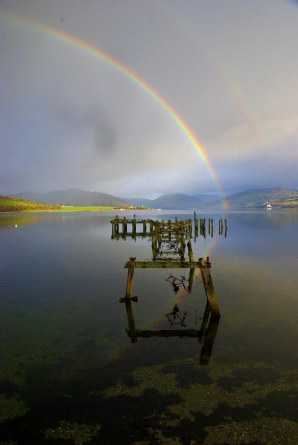 Rainbow, kyles of bute