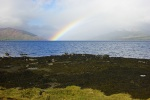 rainbow, loch striven