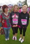 Michaela, Emily and Danielle, Race for Life
