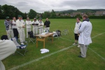 The 'ashes' presentation