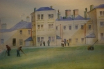 old painting, Argyll and Bute hospital grounds
