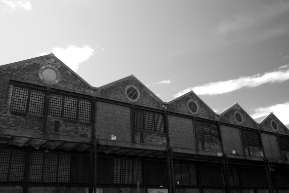 sugar warehouse, Greenock dock