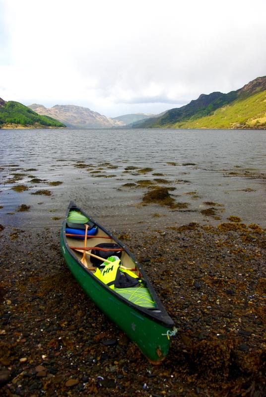 Canoe, Loch Striven