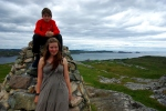 William and Emily, Dun I, Iona
