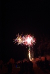 firework crowd