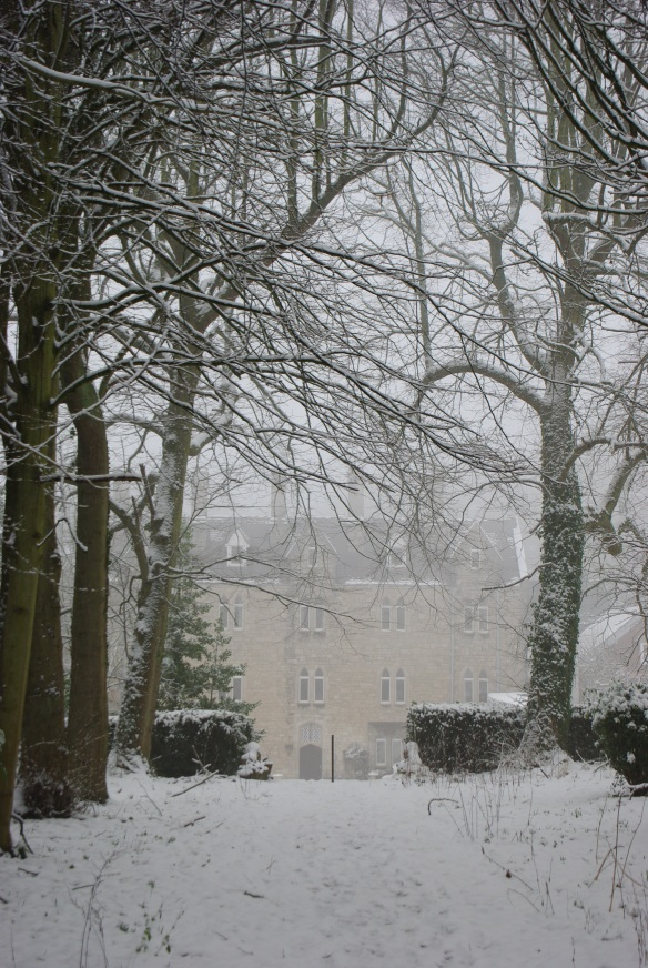 st beauno's in the snow