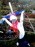Jesus at the allotments