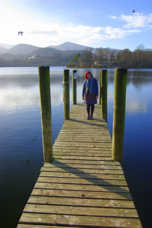 Michaela, Derwent water