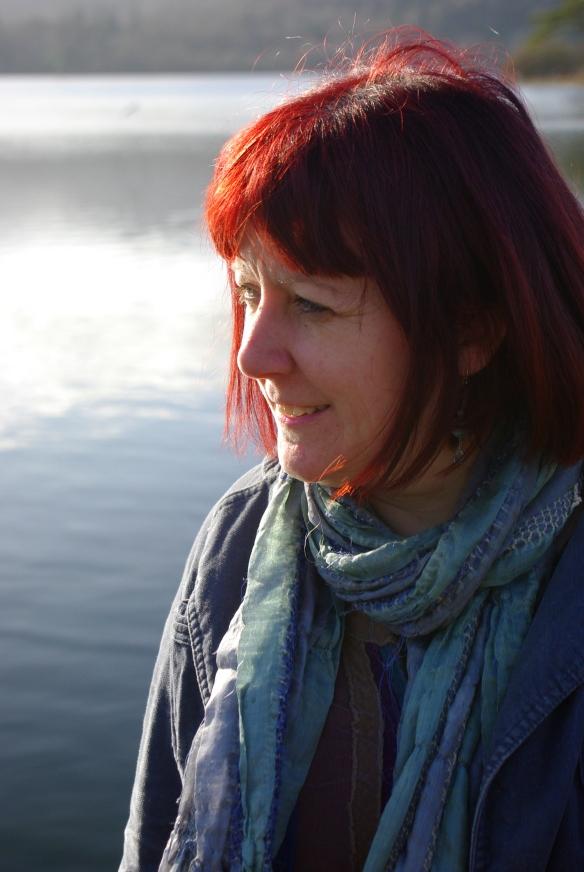 Michaela, winter sun