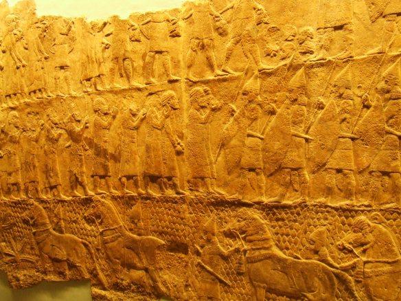 lachish relief