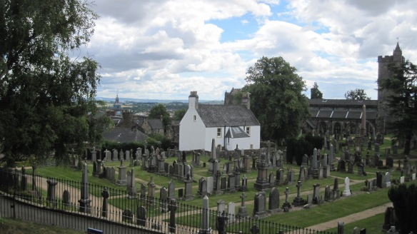 gravestones, stirling