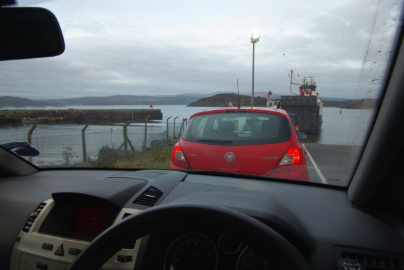 waiting for ferry, portavadie