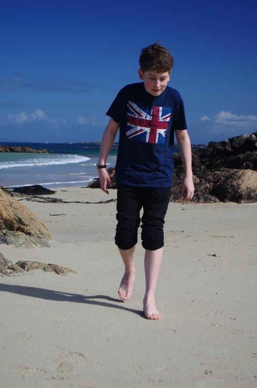 William flies the flag