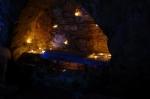candle lit chapel, eilean mor, maccormaig isles