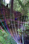 Ribbon waterfall
