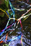 Tangle of ribbons during deconstruction