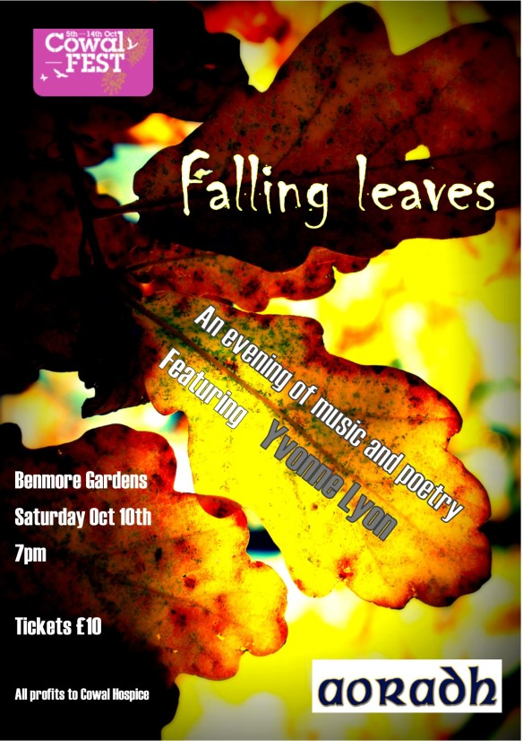 falling leaves poster